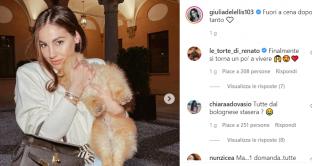 """Giulia De Lellis a """"Il Bolognese"""""""
