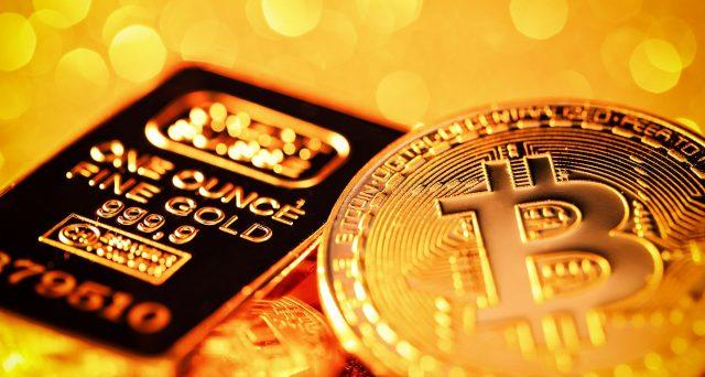 Prezzo dell'oro indebolito da Bitcoin