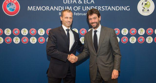 Scontro tra UEFA e Superlega appena iniziato