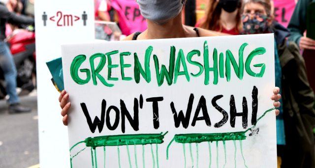 La presa in giro del greenwashing