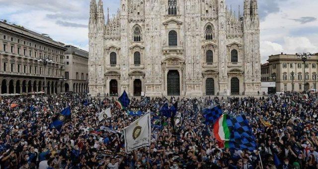 Lo scudetto all'Inter e i numeri della festa nerazzurra