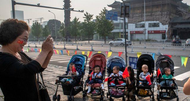 Popolazione in Cina sempre più anziana