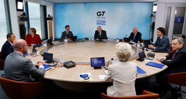 G-7 2021 anti-Cina