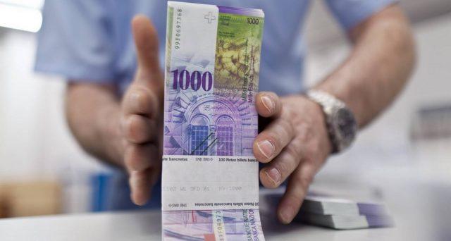 Franco svizzero ai massimi contro l'euro da 5 mesi