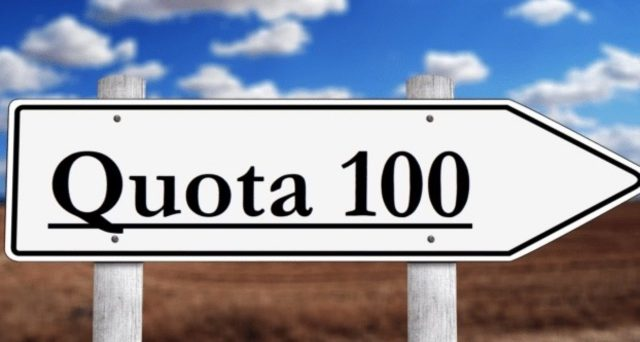 Una nuova quota 100?