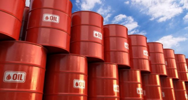 Quotazione del petrolio a -10% dai massimi