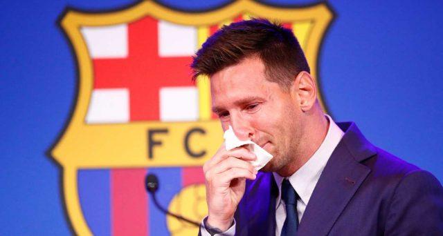 L'addio di Messi al Barcellona
