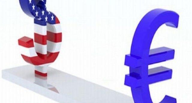 Cambio euro-dollaro sotto 1,17
