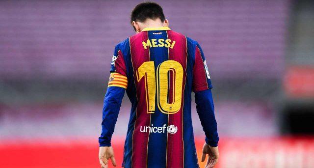 Messi via dal Barcellona