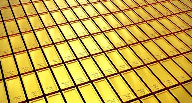 La caduta del prezzo dell'oro