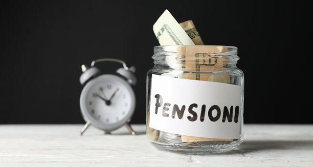 Assegno della pensione tagliato negli anni
