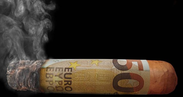 Depositi bancari in fumo