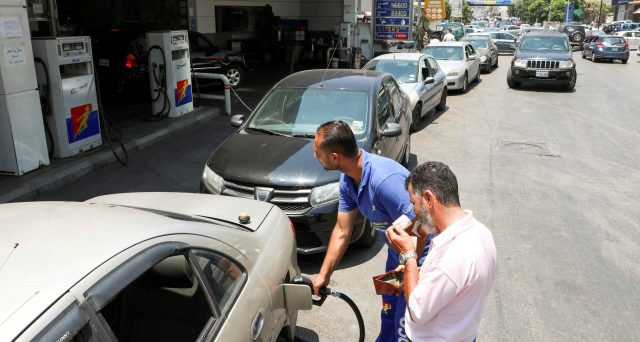Prezzo della benzina a +38% nel Libano