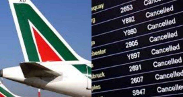 Sciopero Alitalia brutto finale