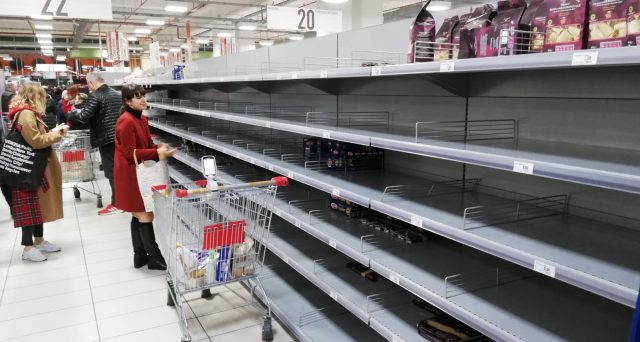 Consumatori e rischio carenza strutturale dei beni