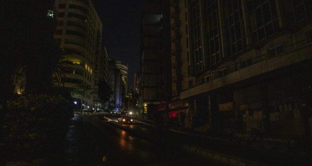Il Libano è rimasto al buio