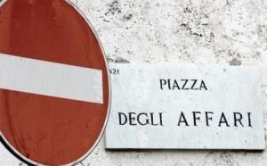 stop piazza affari
