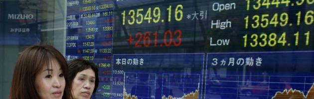 Tokyo chiude in calo dello 0,62%
