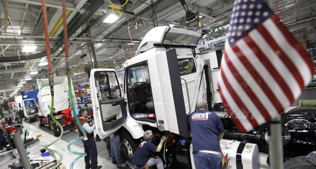 La produzione industriale Usa sale oltre le attese nel mese di settembre