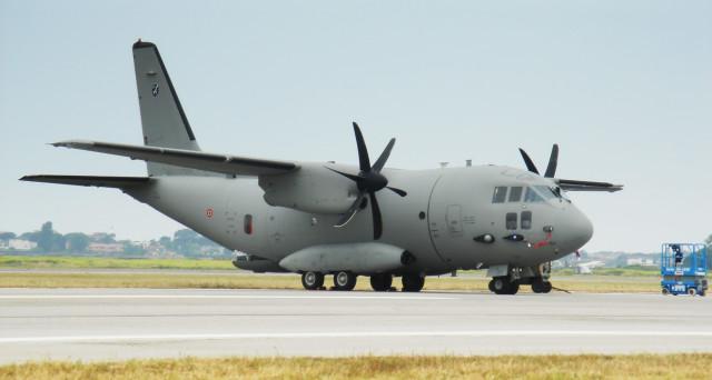 Leonardo-Finmeccanica: debutto europeo al Farnborough Air Show per il C-27J della Guardia Costiera americana