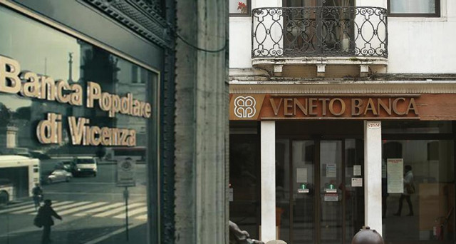 I vertici di Veneto Banca e della Popolare di Vicenza a rapporto dall'Antitrust UE