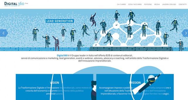 Digital360 è il Gruppo leader in Italia nell'offerta B2B di contenuti editoriali