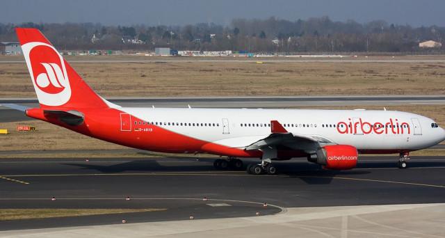 A partire dal prossimo 28 ottobre gli aerei Air Berlin resteranno a terra