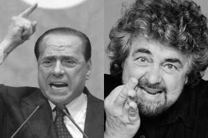 Effetto Grillo-Berlusconi sui mercati: