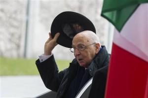 Effetto Napolitano-bis, spread in