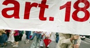 L'articolo 18 dello statuto dei lavoratori è una disposizione che fa riferimento alla reintegrazione nel posto di lavoro per i dipendenti licenziati illegittimamente.
