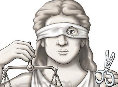 giustizia non cieca