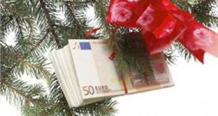 Tredicesime: a metà dicembre le famiglie incasseranno 36,4 miliardi di Euro per le tredicesime. Rate, mutui, bollette, tasse e visite mediche eroderanno l'89% di tale importo.