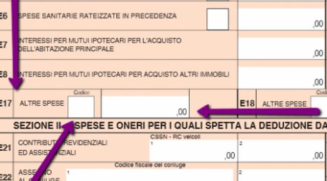 Interessi mutuo 730 casa e interessi sul mutuo with for Spese notarili acquisto prima casa detraibili
