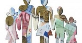 Nuovi limiti di reddito e importi per gli assegni al nucleo familiare nella circolare Inps.