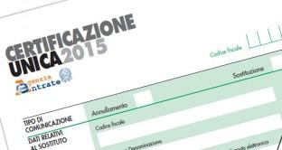 Certificazione Unica 2015 slittamento per  i lavoratori autonomi non occasionali al 31 luglio 2015
