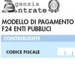 Modello F24 Enti pubblici aggiornato con un provvedimento dell'Agenzia delle entrate. Debutto ufficiale il 22 ottobre 2012