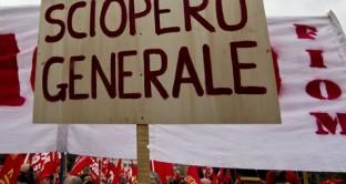 Sciopero generale di 24 ore proclamato per venerdì 21 ottobre: tutte li informazioni sulla protesta.