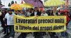 Pensioni: lavoratori precoci lottano per la Quota 41