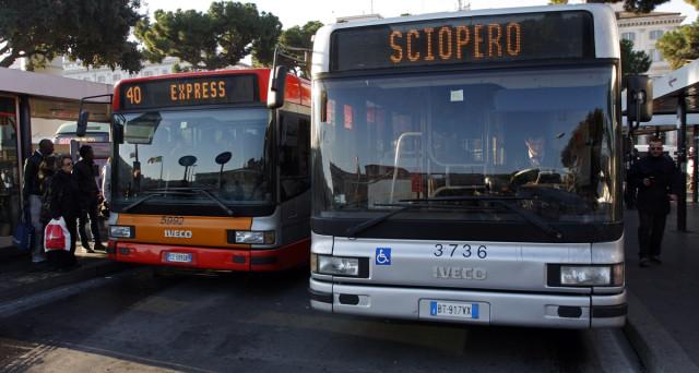 Lunedì 11 luglio sciopero bus metro e ferrovie urbane