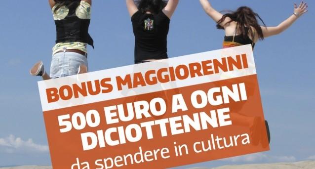 Bonus cultura: dal 15 settembre €500 ai 18enni italiani e stranieri