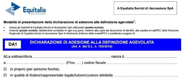 Equitalia, Rottamazione cartelle: il modulo di adesione alla definizione agevolata dovrà essere modificato, vediamo come cambierà e perché.