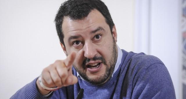 CONFERENZA STAMPA MATTEO SALVINI ALLA STAMPA ESTERA