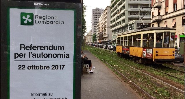 Referendum Lombardia 22 ottobre 2017: cosa succederebbe in caso di vittoria del SI.