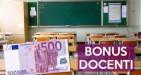 Bonus scuola di 500 euro per i docenti, al via le domande anche per l'anno scolastico 2017/2018.