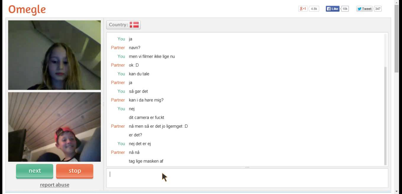 webcam chats like omegle