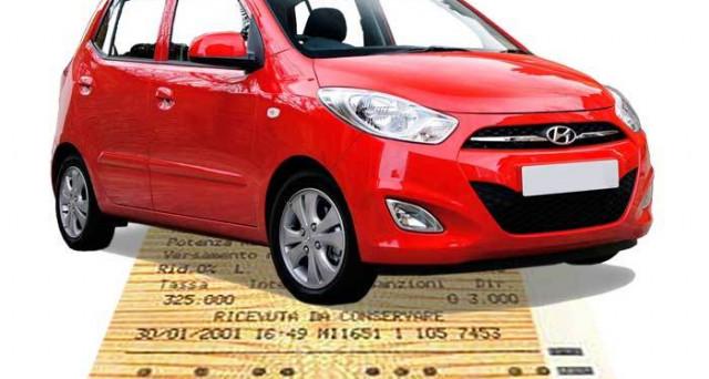 Bollo auto legge 104 certificato rivedibile