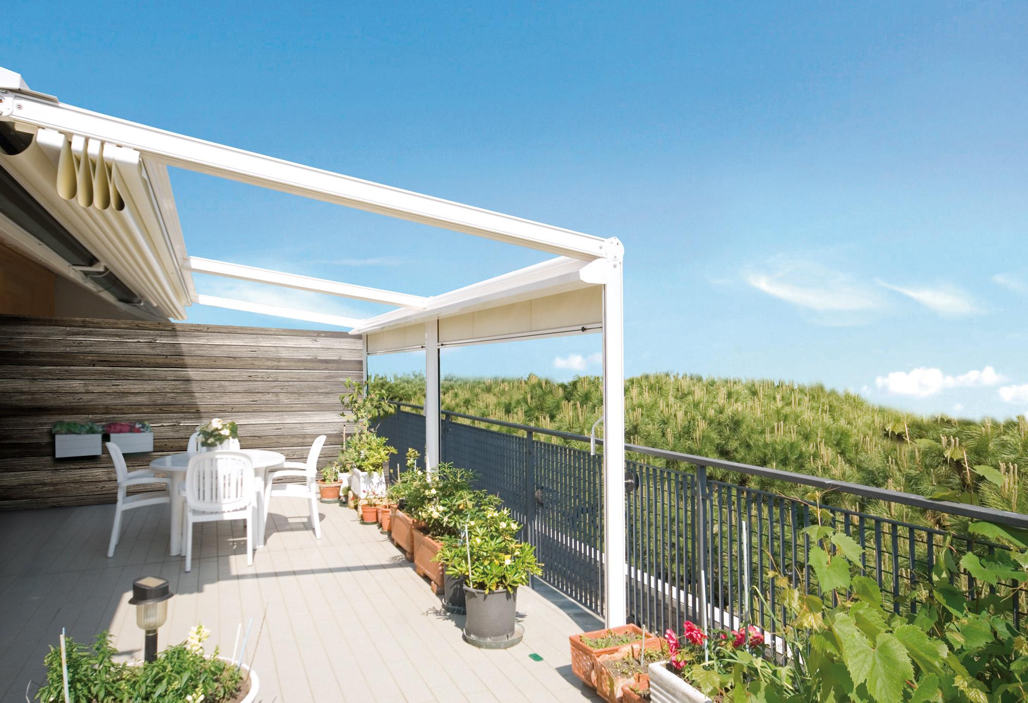 Coprire Terrazzo Con Veranda veranda, tettoia, pergotenda: cosa sapere su permessi