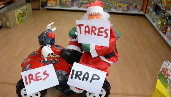 Babbo Natale tasse