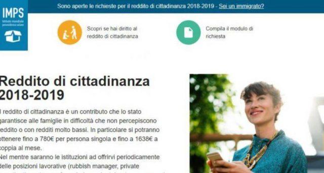 Sito Inps fake per modulo domanda reddito di cittadinanza online: pioggia di richiesta all'IMPS, Istituto Mondiale Provvidenza Solare. Perché è diventato virale e che cosa significa