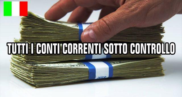 Il fisco ha iniziato a controllare i conti correnti degli italiani. Focus sui movimenti sospetti e sulle movimentazioni anomale di contanti. Quando scatta la segnalazione della banca.